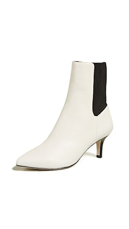 Rali Booties in Ivory