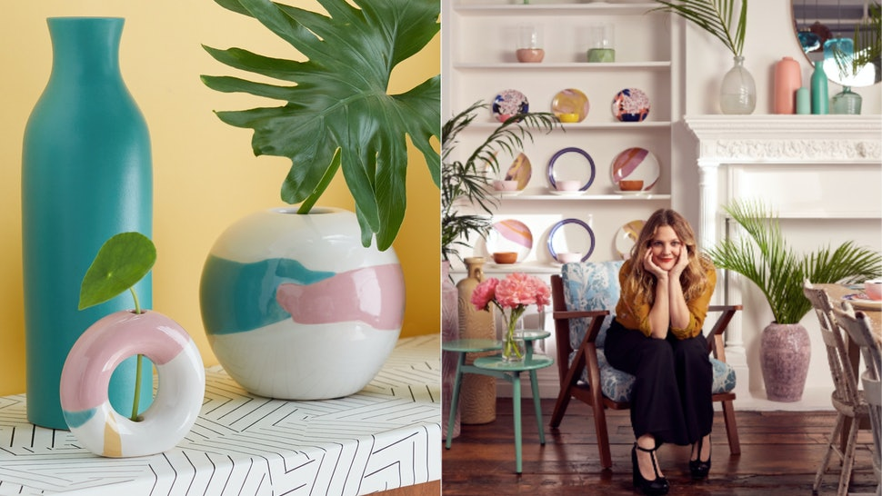 Drew Barrymore Launched A Homeware Decor Line At Walmart Called Flower Home