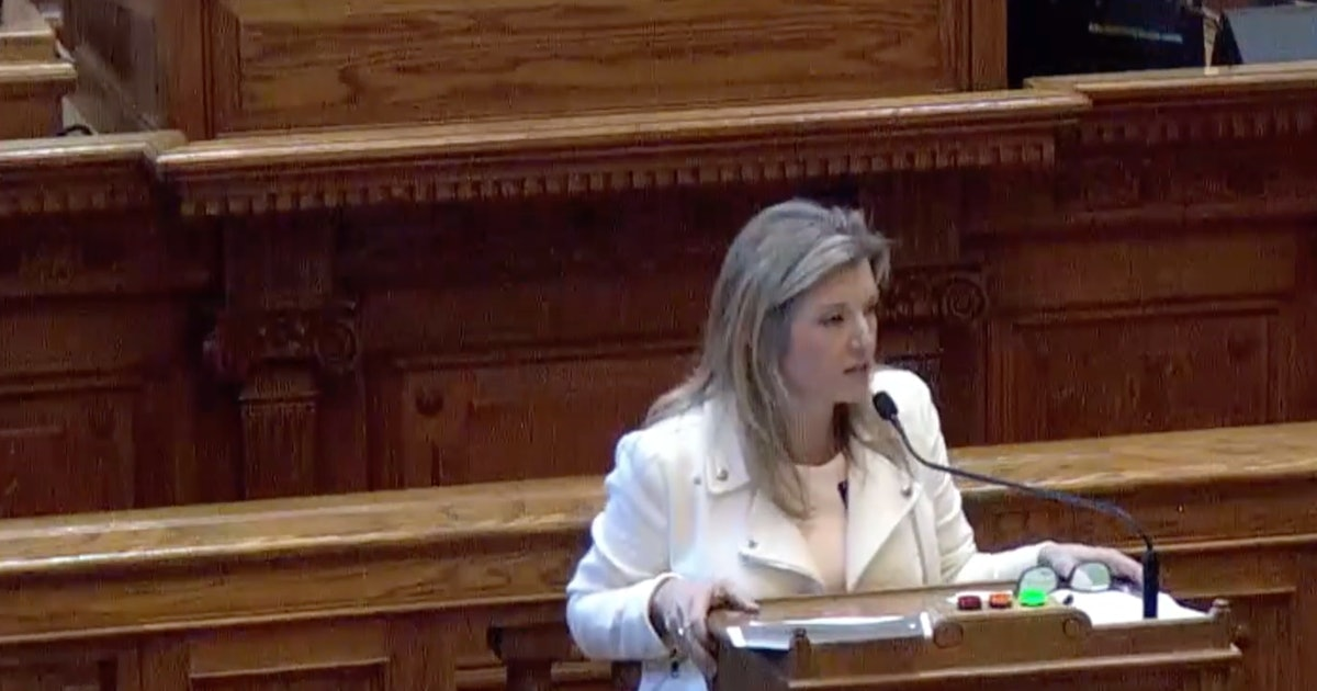 "Georgia Sen. Jen Jordan's Speech Against The ""Heartbeat"" Abortion Bill Goes Viral"