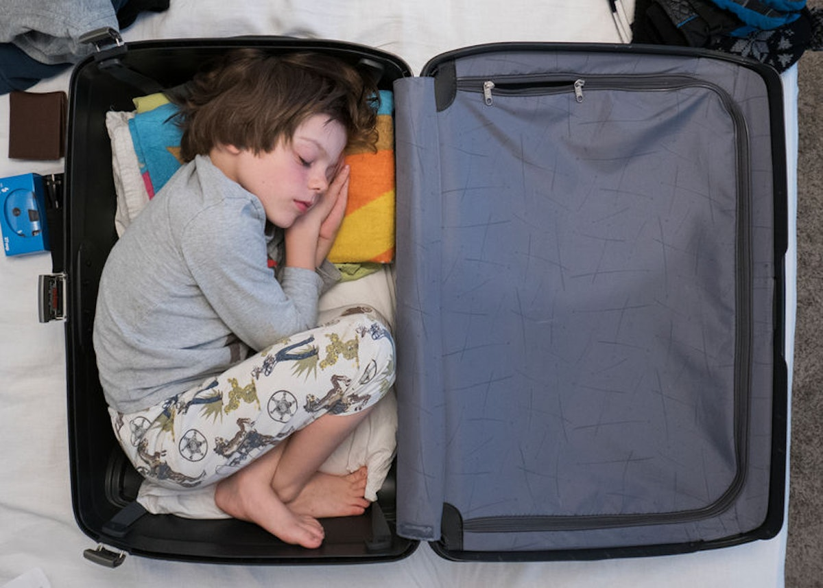 Why Do Kids Fall Asleep In Weird Places? This Study Finally Explains