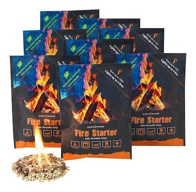 InstaFire Eco-Friendly Fire Starter (12 Pack)