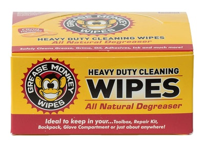 Grease Monkey Wipes Heavy-Duty Cleaning Wipes