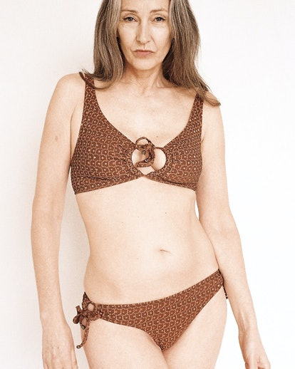 Nancy Bikini Rust Shimmer