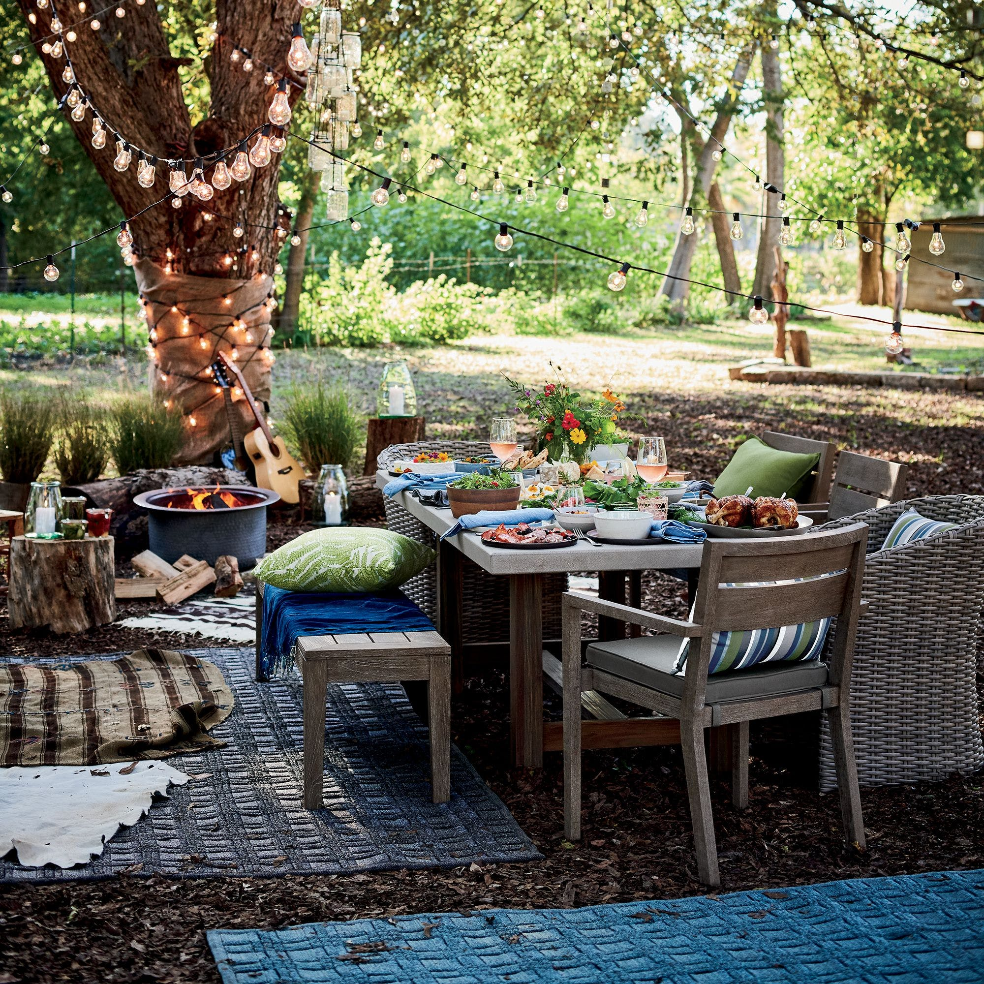 Picture of: Crate Barrel S Outdoor Furniture Sale Means Up To 20 Percent Off Dining Sets Lounge Chairs More