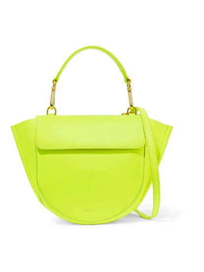 Hortensia Mini Neon Leather Shoulder Bag