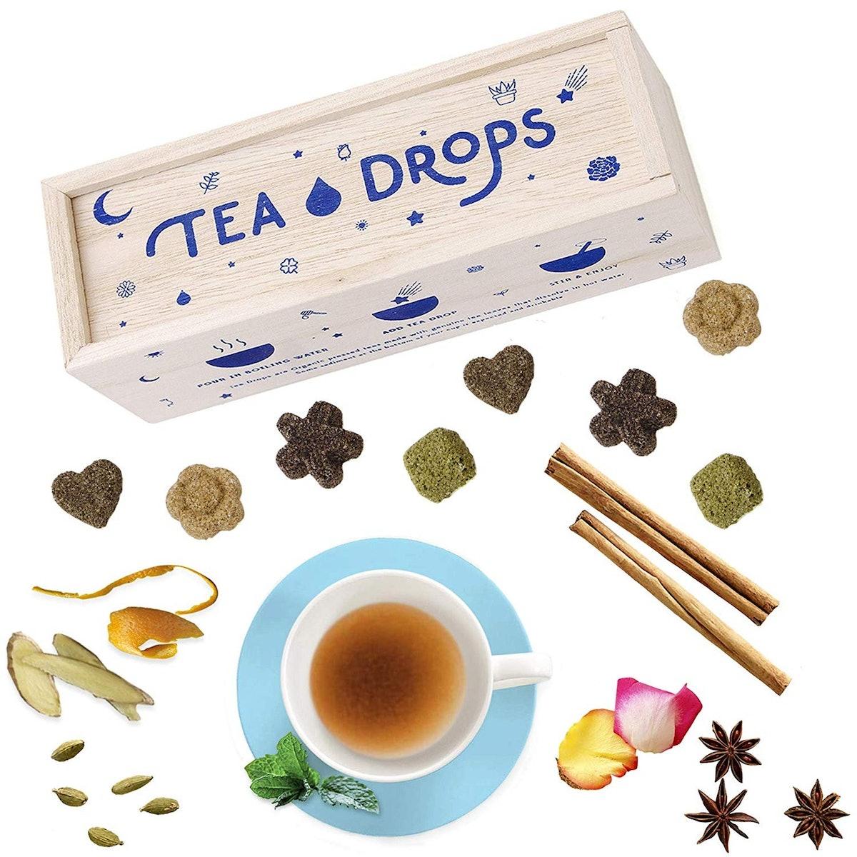 Tea Drops Instant Pressed Teas (8 Count)