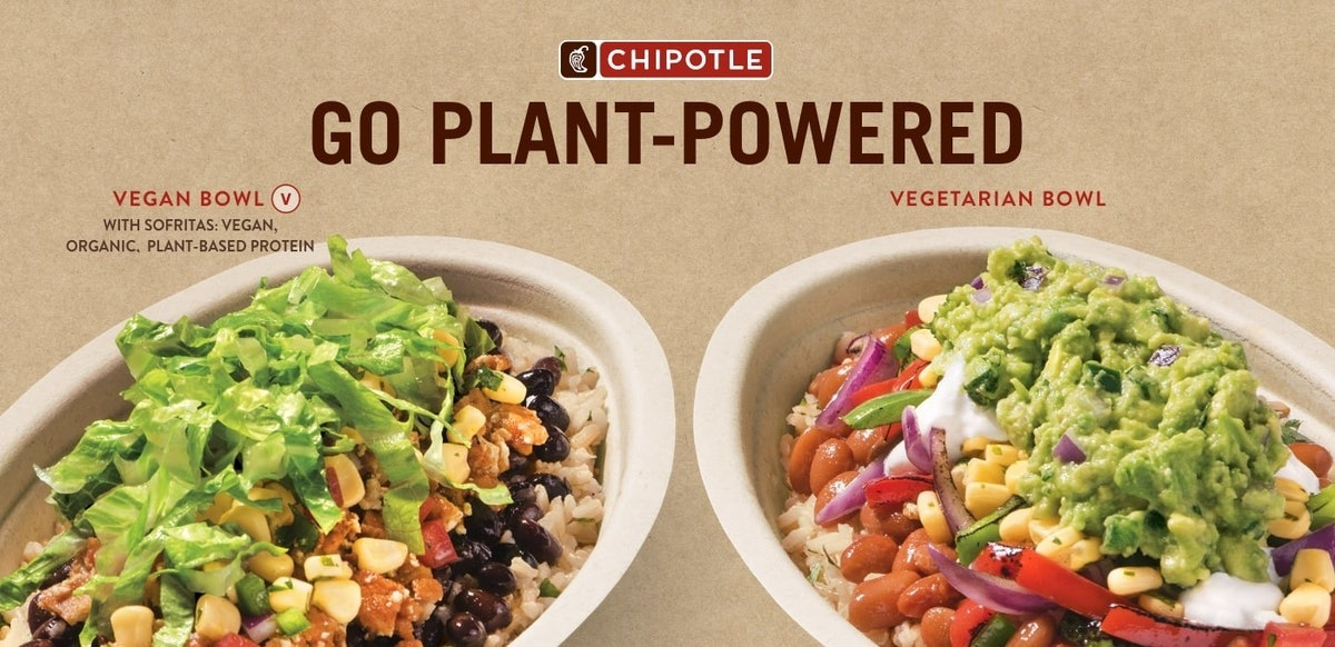 Chipotle Has New Vegetarian & Vegan Bowls For Anyone Who Is SO Over Making Decisions