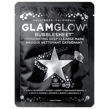 Glam Glow Bubblesheet Oxygenating Deep Cleanse Mask