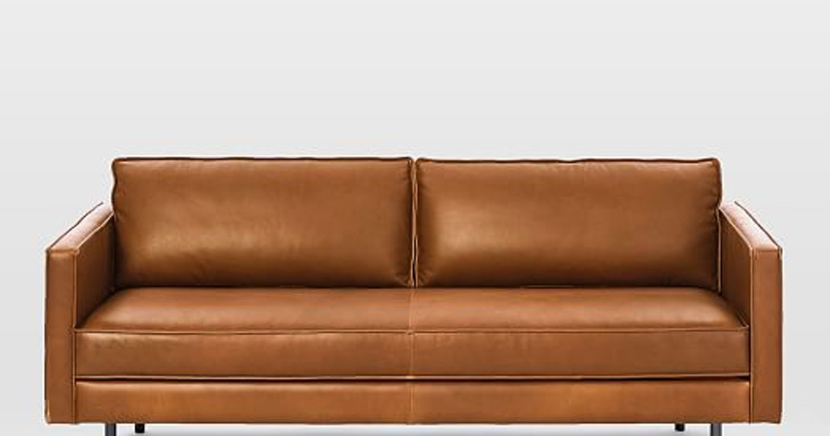 Axel Leather Sofa, Freedom Leather Sofa Review
