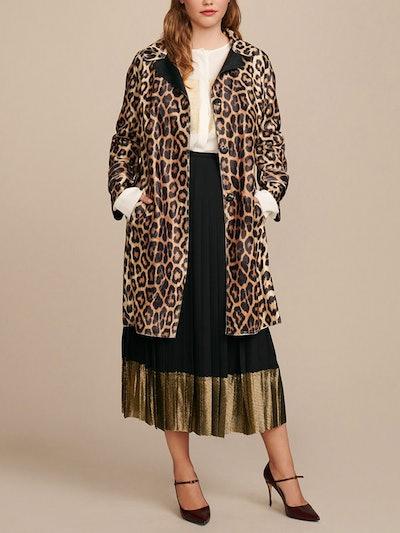 Leopard Car Coat