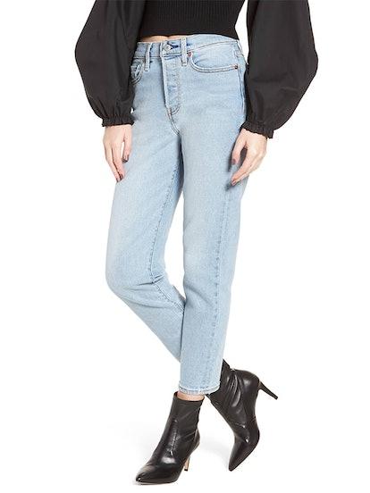 Wedgie Icon Fit High Waist Crop Jeans