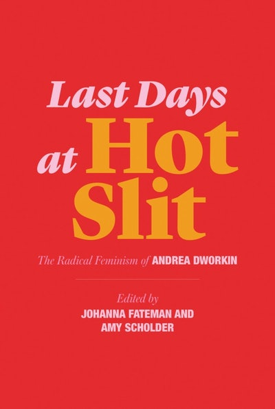 'Last Days At Hot Slit: The Radical Feminism Of Andrea Dworkin' edited by Johanna Fateman and Amy Scholder