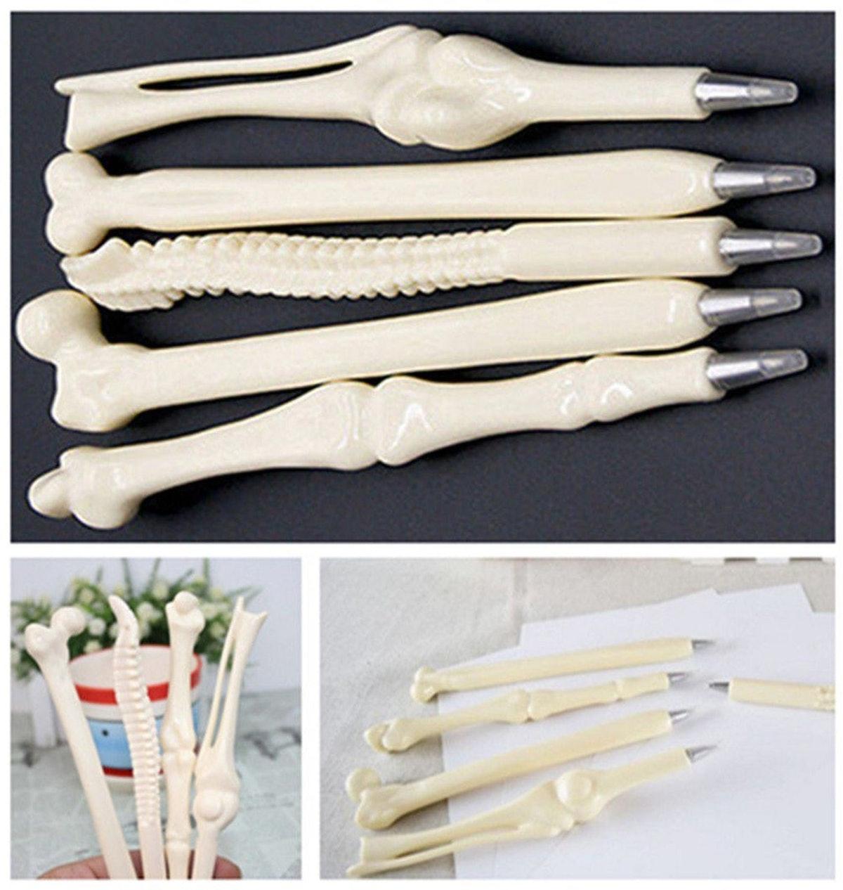 MXXGMYJ Bone-Shaped Pens (10 Pack)