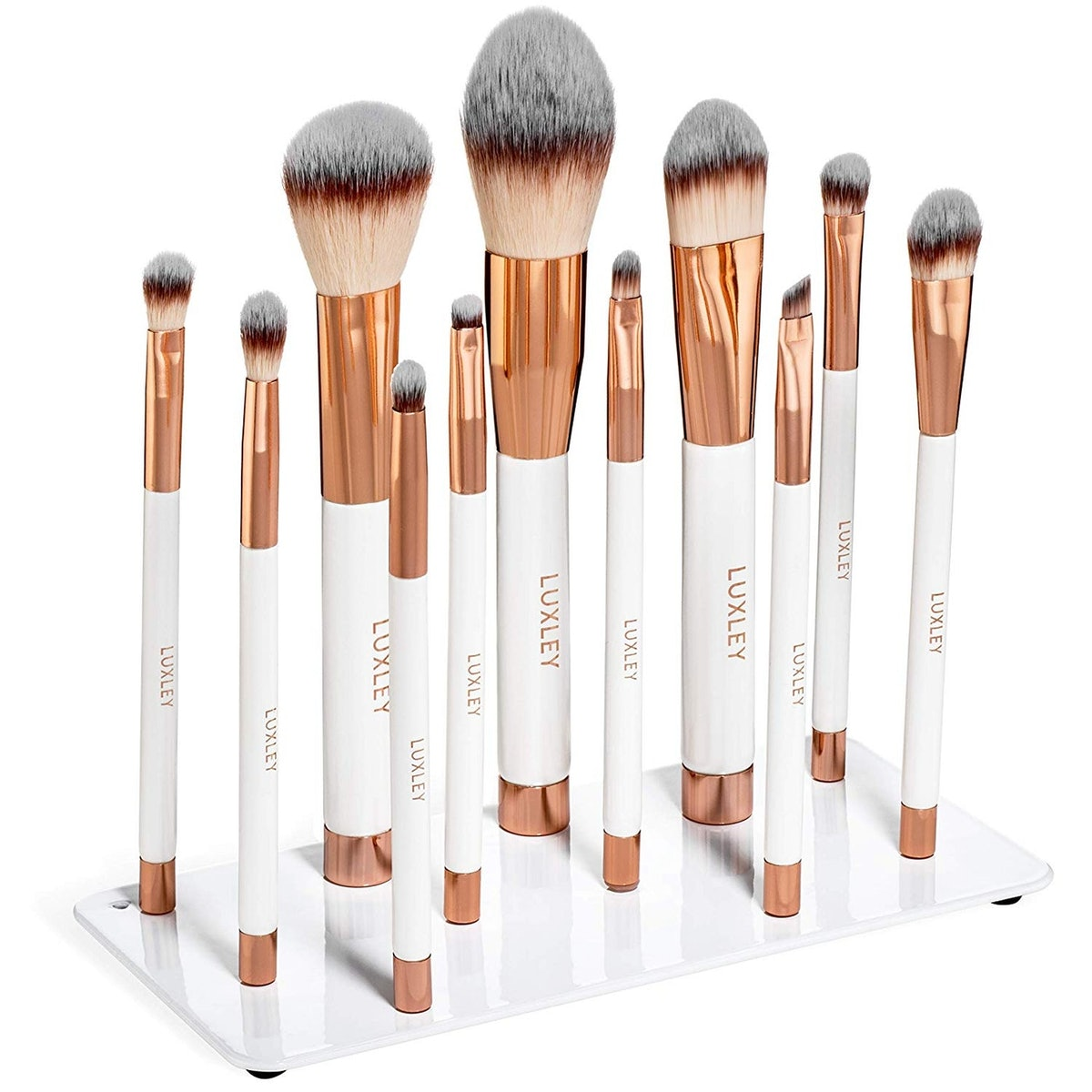 Luxley Magnetic Makeup Brushes (11 Brushes)