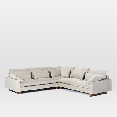 Harmony Down-Filled L-Shaped Sectional