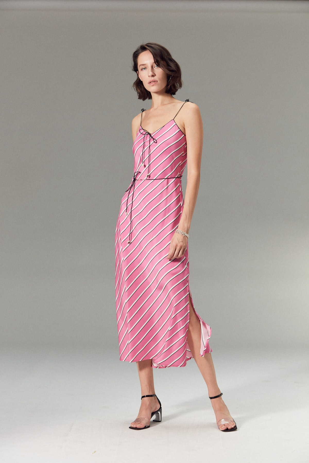 Spritz Silk Dress