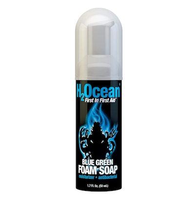 H2Ocean Blue Green Foam Soap