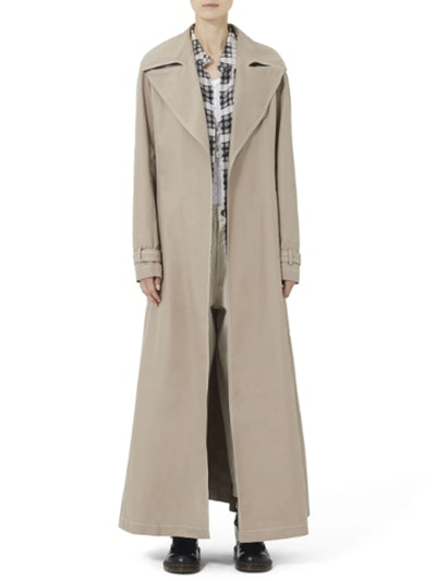 Redux Grunge Full-Length Belted Trench Coat