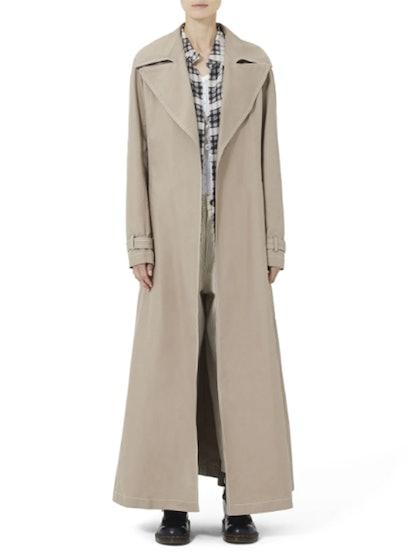 Redux Grunge Full-Length Belted Trench Coat
