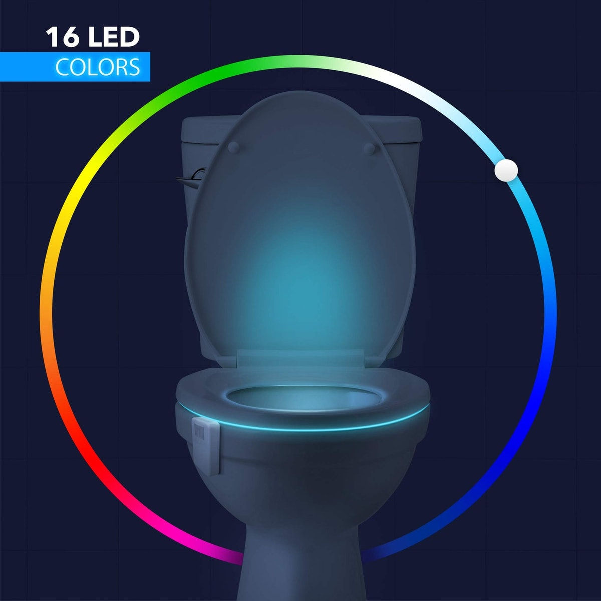LumiLux Motion Sensor Toilet Light