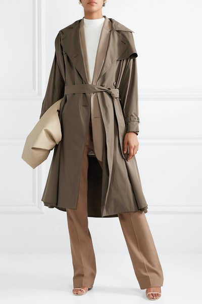 Albano Cotton-Poplin Trench Coat