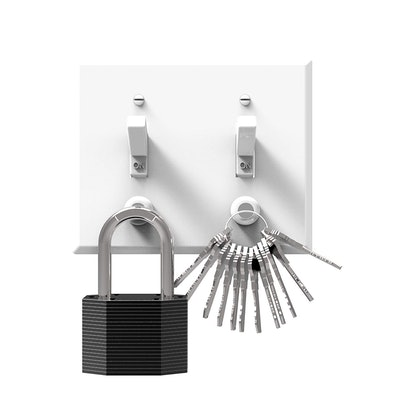 KeySmart Magnetic Key Rack (6 Pack)