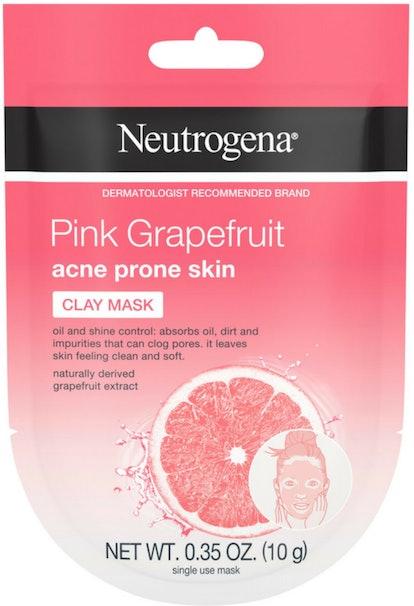 Neutrogena Pink Grapefruit Clay Face Mask