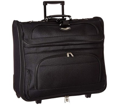 Travel Select Amsterdam Rolling Garment Bag Wheeled Luggage Case