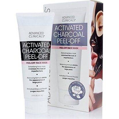 Advanced Clinicals Activated Charcoal Peel Off Face Mask