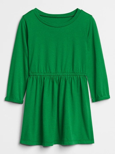 Cinched-Waist Dress