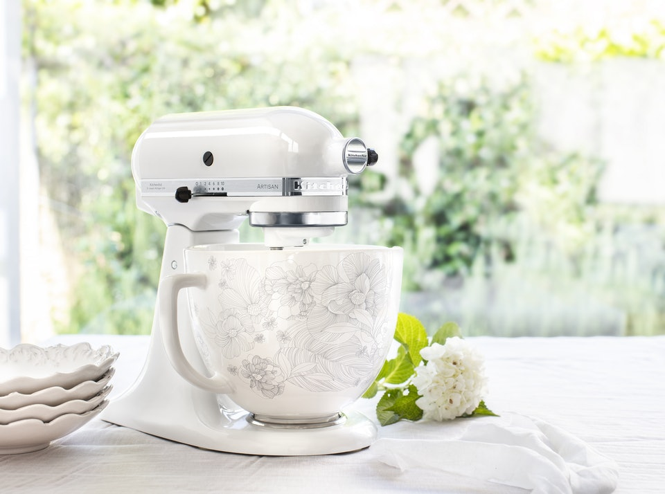 Kitchenaid S New Ceramic Mixing Bowls For Their Stand Mixers Are