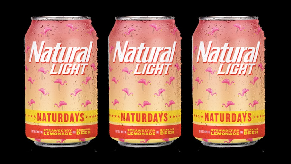 Natural Light S Naturdays Strawberry Lemonade Beers Have Me Ready