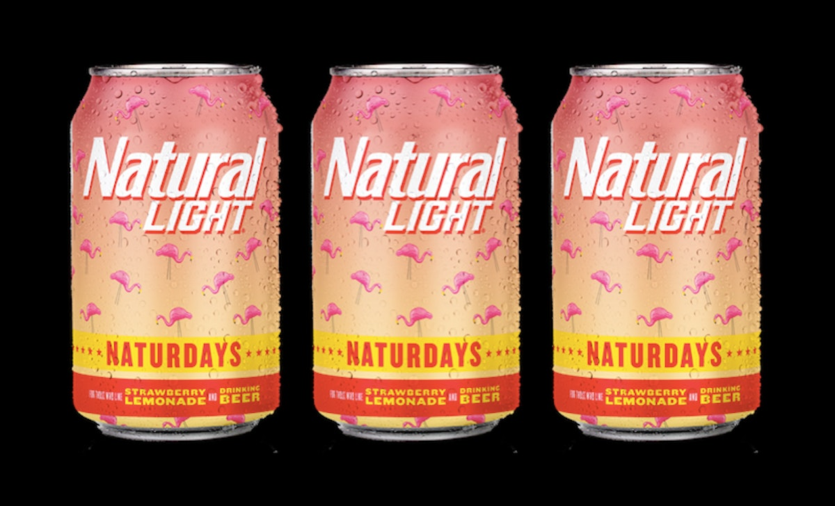 """Natural Light's """"Naturdays"""" Strawberry Lemonade Beers Have Me Ready For Warm Weather"""