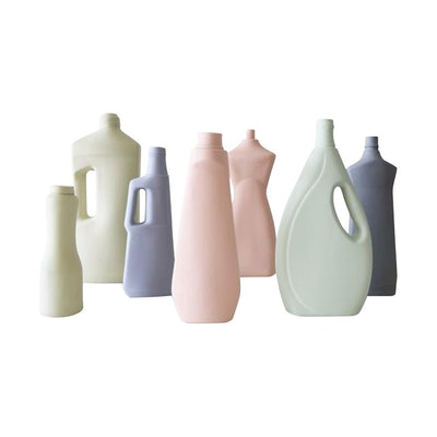 Pastel Bottle Vases