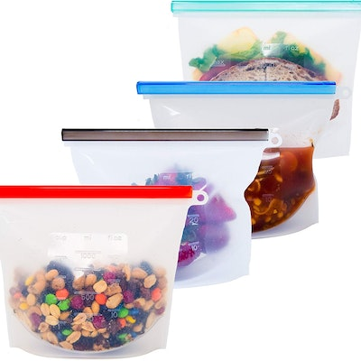 Honeycomb Reusable Storage Bags (4 Pack)