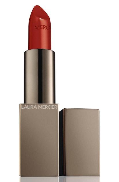 Laura Mercier Rouge Essentiel Silky Crème Lipstick in Rouge Electrique