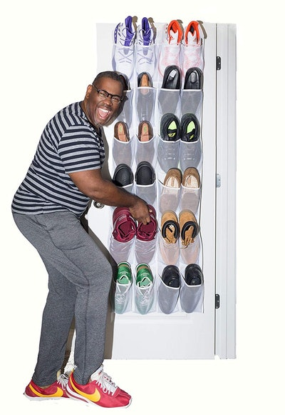 Roomganize Large Over the Door Shoe Organizer