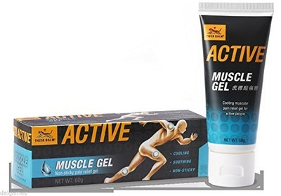 Tiger Balm Active Muscle Gel, 60 grams