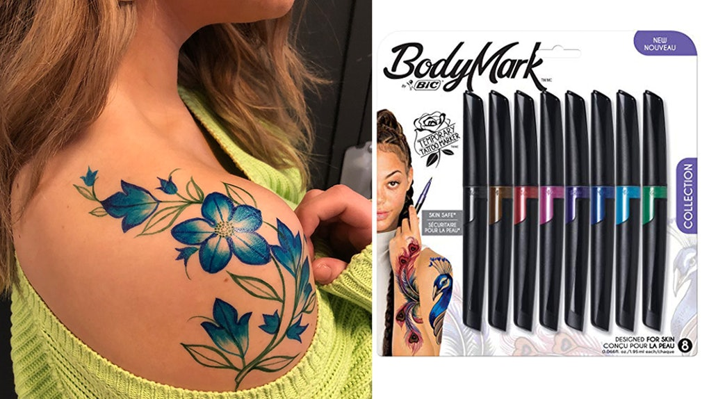 This BodyMark By BIC Temporary Tattoo Marker Review Made Everyone ...