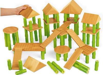 Bamboo Building Blocks Master Set