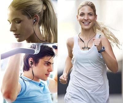 Aumo Magnetic Bluetooth Headphones