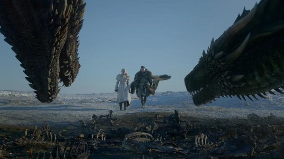 Картинки по запросу game of thrones season 8 dragons