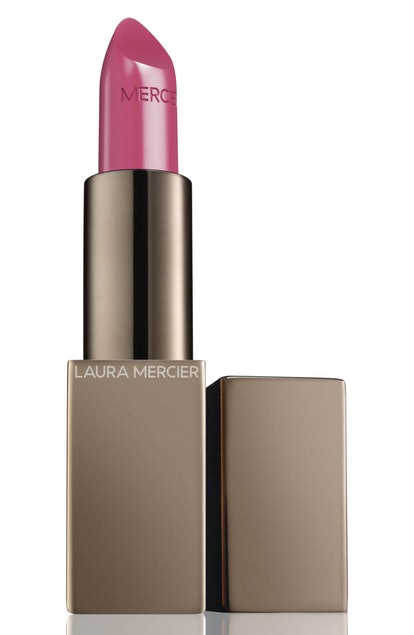 Laura Mercier Rouge Essentiel Silky Crème Lipstick in Blush Pink
