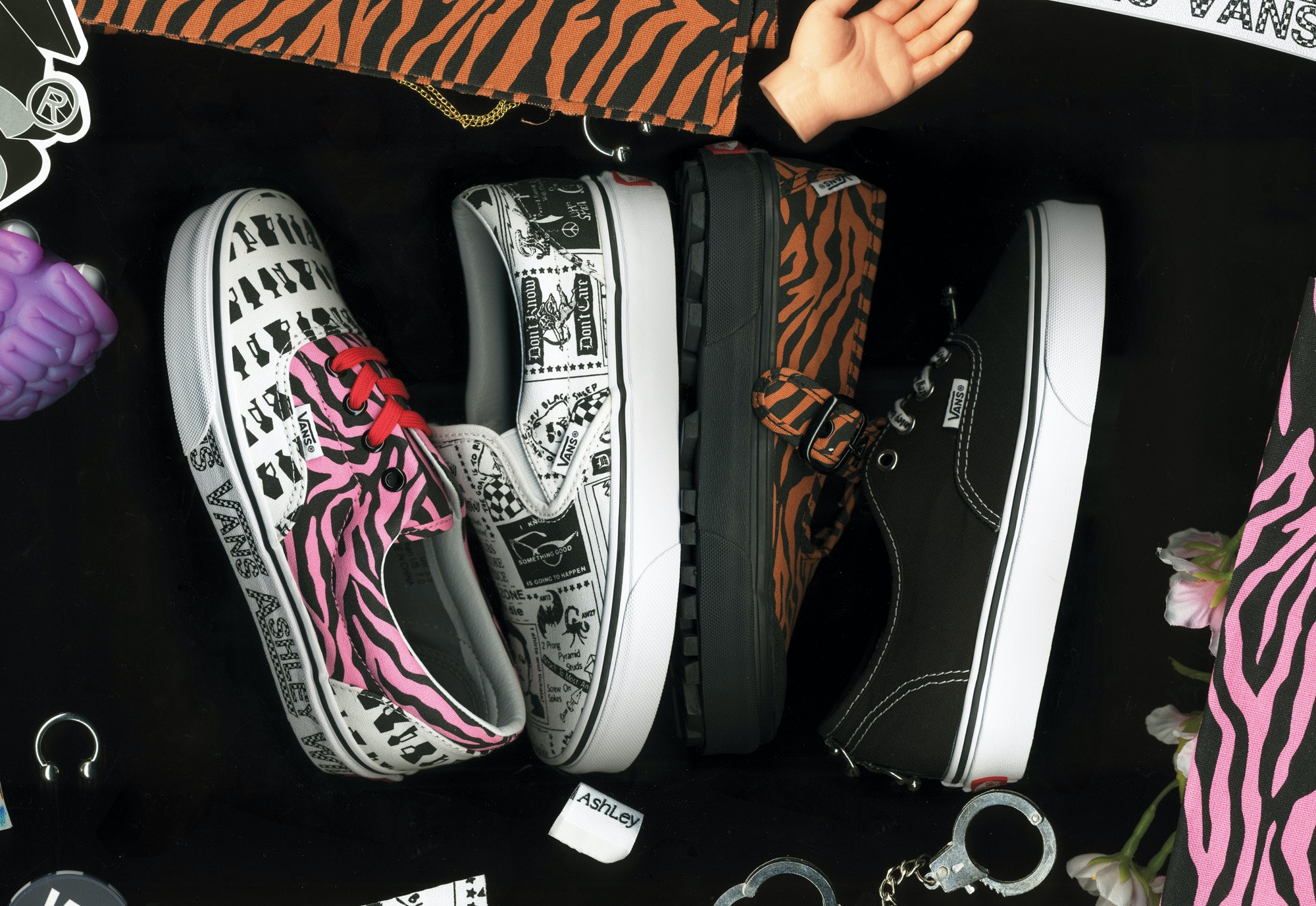 529de60aa8 The Vans x Ashley Williams Collection Features So Many Fun Prints   Designs
