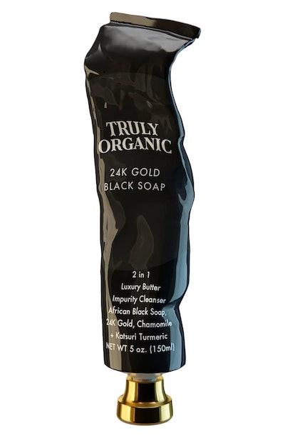 Truly Organic 24k Gold Black Soap