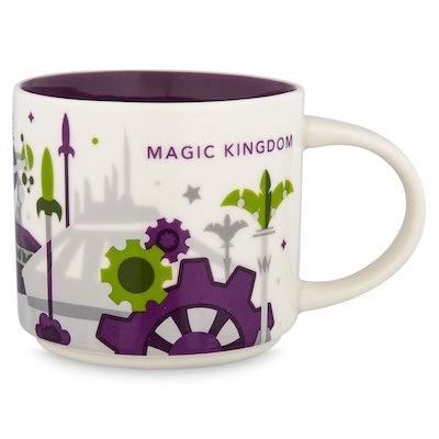 Magic Kingdom Starbucks YOU ARE HERE Mug