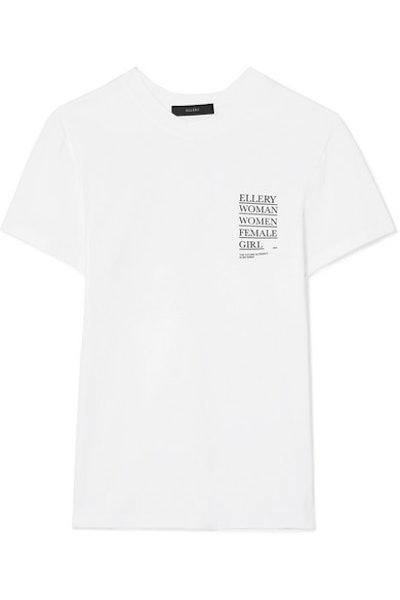 Ellery International Women's Day T-Shirt