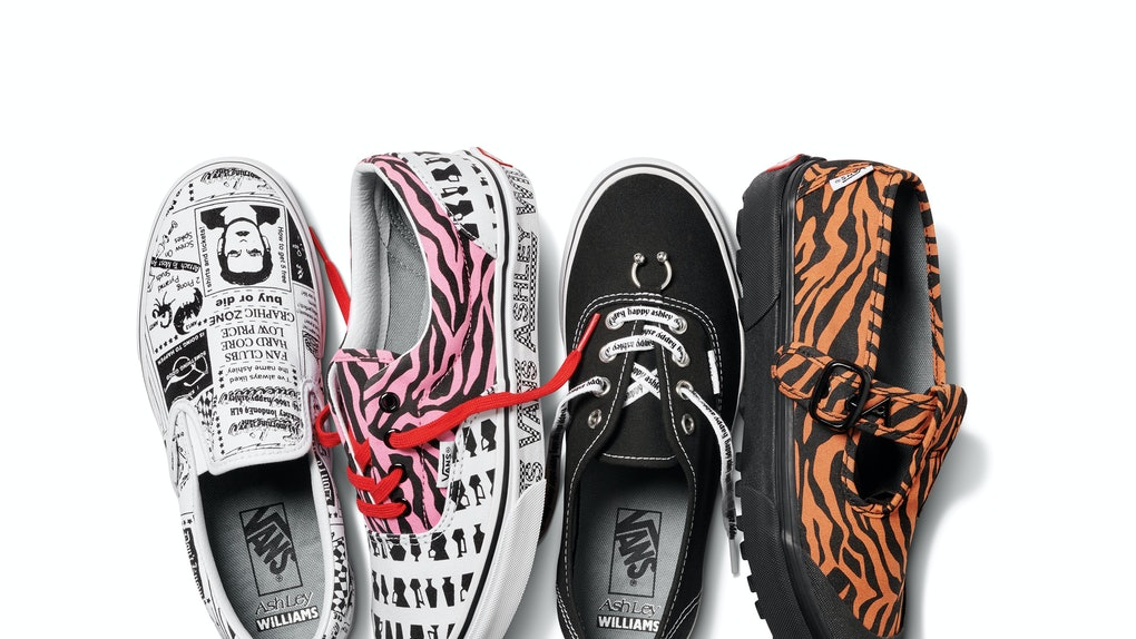 3cd98e08c01 The Vans x Ashley Williams Collection Features So Many Fun Prints   Designs