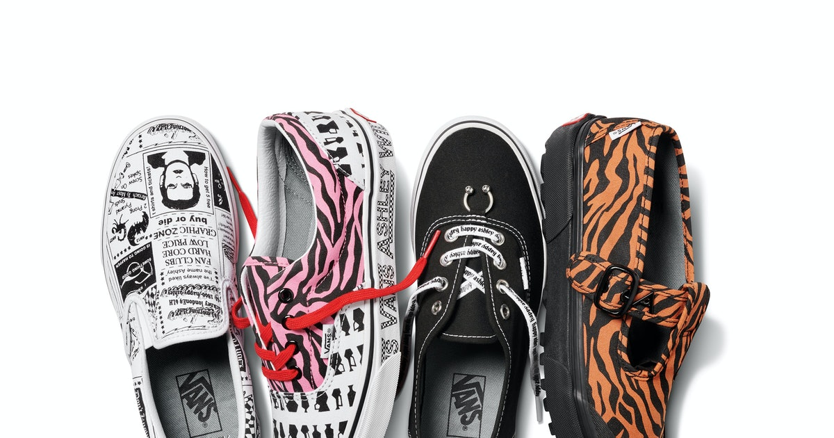 The Vans X Ashley Williams Collection