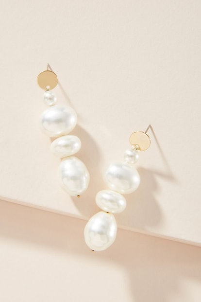 Marlena Pearl 14K Gold-Plated Earrings
